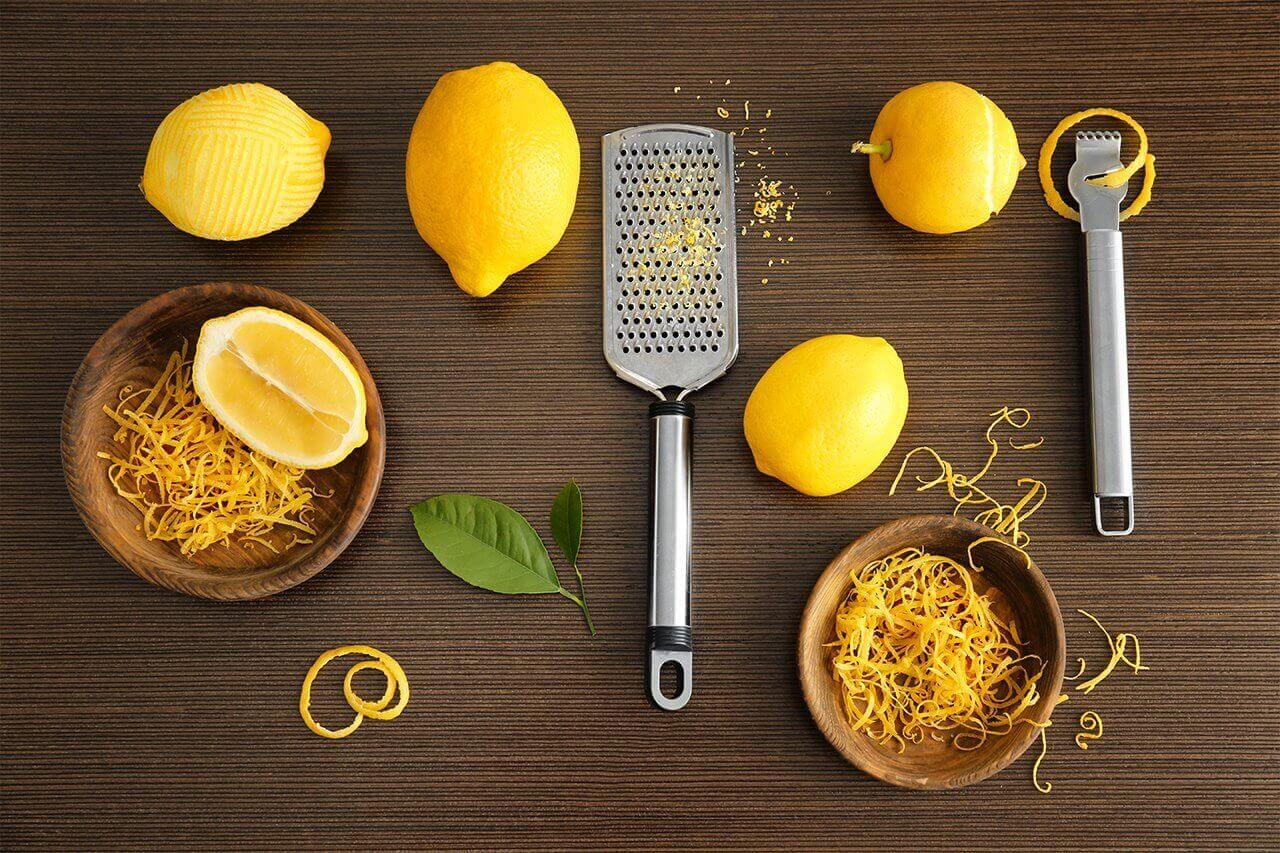 Zest and peel of lemons can be frozen, candied or preserved/