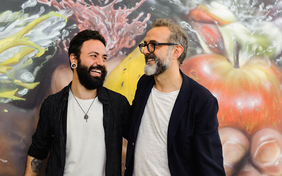 Massimo Bottura and other leading international chef