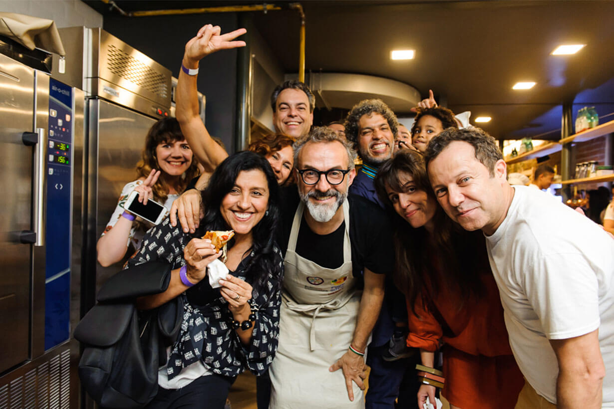 Team of Refettorio Gastromotiva